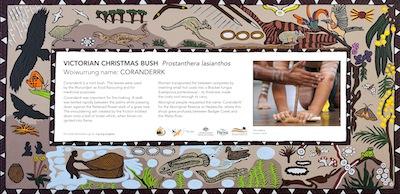 Victorian Chrismas Bush