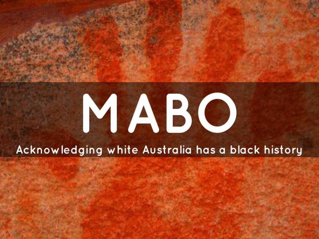 Referendum and Mabo